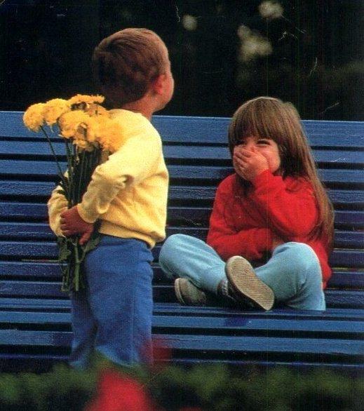 Çocuklardan Aşk'ın Tanımı.